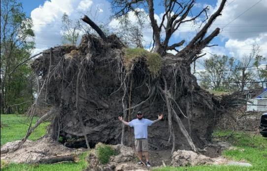 Hurricance sally storm Damage in Cherokee Country