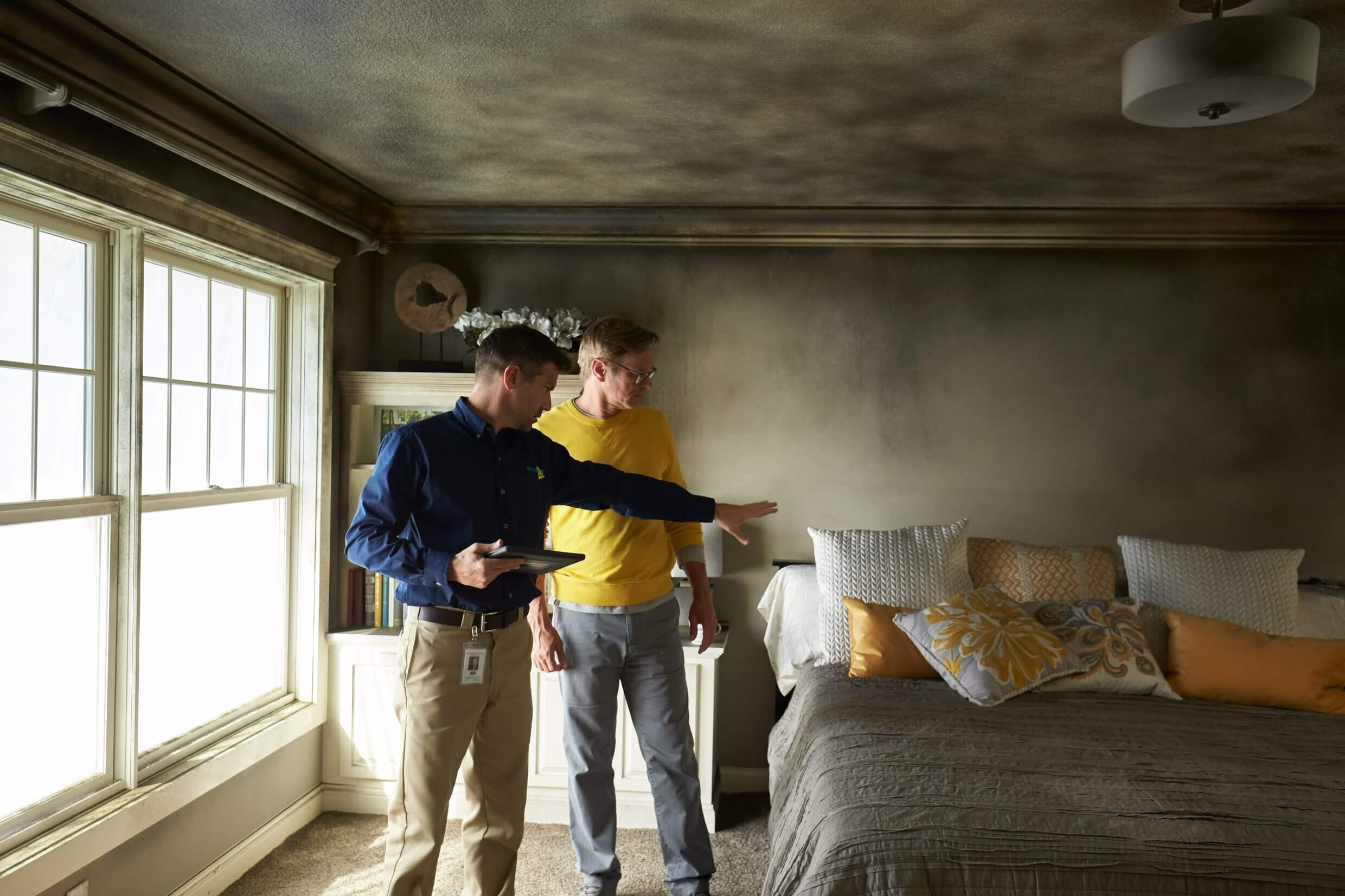 residential fire damage servicemaster by bailey